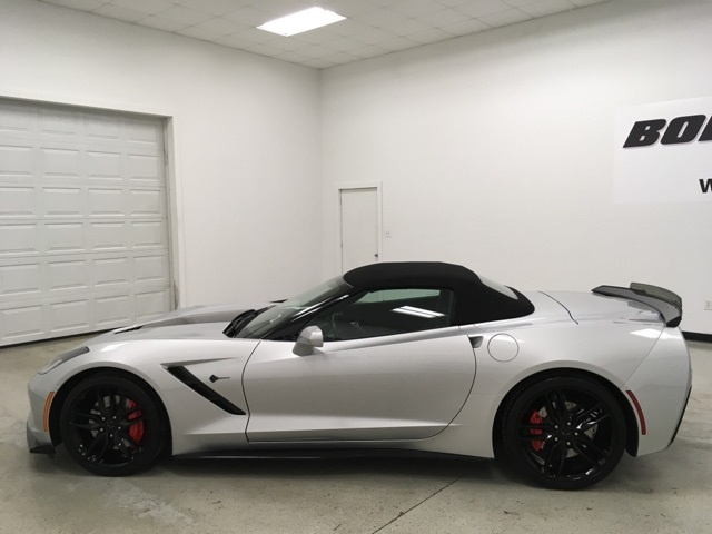 2017 Chevrolet Corvette Stingray Z51 >> Pre Owned 2017 Chevrolet Corvette Stingray Z51 Rwd 2d Convertible